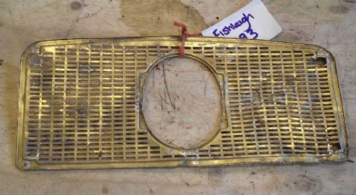 David Brown Tractor -  Brass Front Grille